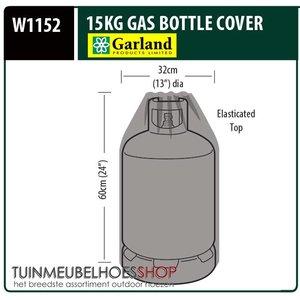 W1152, Gasfles afdekhoes, D: 32 cm & H: 60 cm