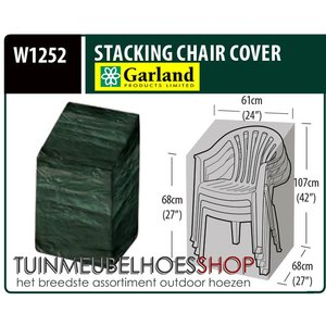 W1252, Tuinmeubelhoes tuinstoel, 68x61 H: 107 cm