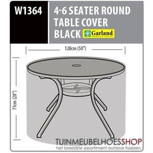 W1364 Afdekhoes ronde tuintafel, D: 128 cm & H: 71 cm