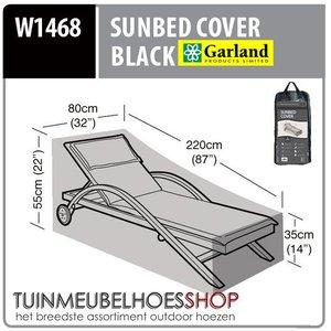 Beschermhoes sunlounger, 220x80 H: 55 cm