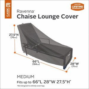 Hoes voor een lounger, 168 x 71 cm