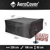 AeroCover AeroCover tuinsethoes 220 x 190 H: 85 cm