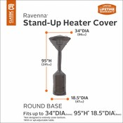 Ravenna, Classic Accessories Hoes voor terrasverwarming H: 241 Ø 86 cm