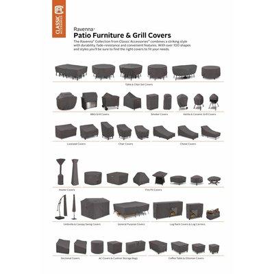Ravenna, Classic Accessories Hoes voor vierkante tuinmeubelset 249 x 249 H: 58 cm