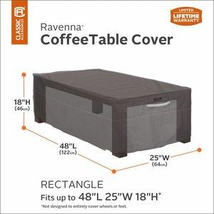 Hoes voor Coffee Table, 123 x 64 cm Hoog 46 cm.