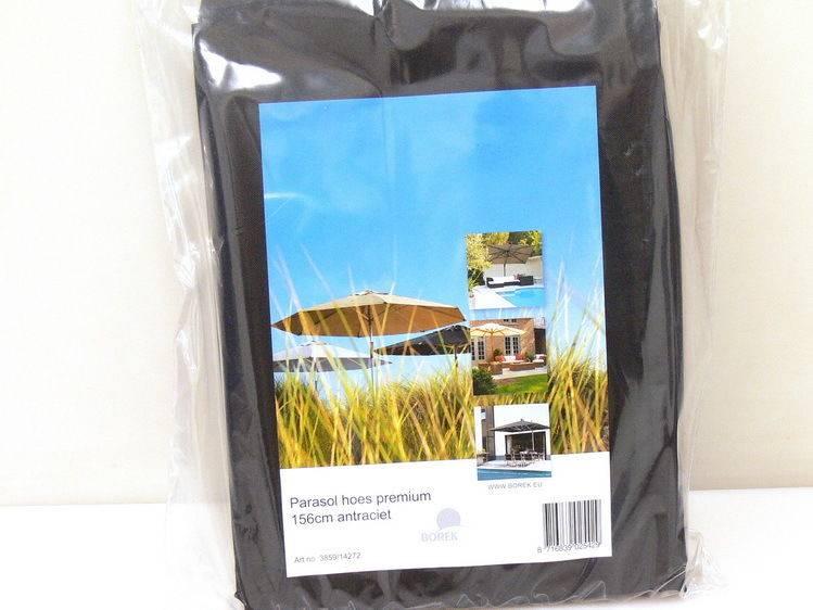Borek parasolhoes cm met stok tuinmeubelhoesshop