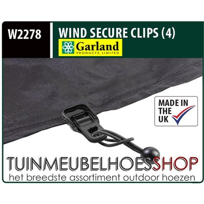 Garland Wind Secure Clips, Wind Klemmen