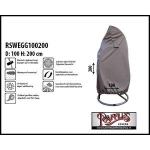 Hoes voor hangstoel, swing egg  D: 100 & H: 200 cm