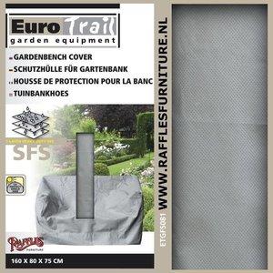 EuroTrail Schutzhülle für Gartenbank 2,5 Sitzer 160 x 75 H: 80 cm