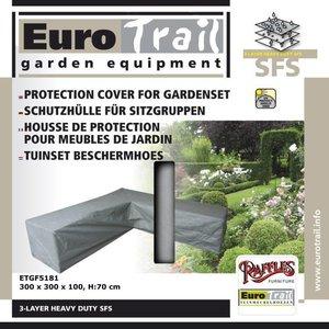 EuroTrail Abdeckhaube für L-Form Sofa 300 x 300 H: 70 cm