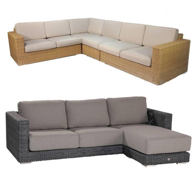 Elegant Schutzhülle Loungemöbel L form