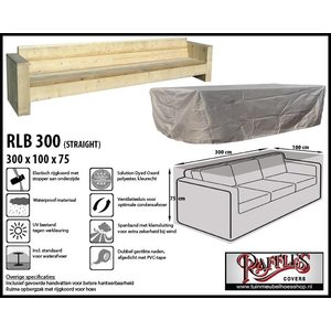 Raffles Covers Abdeckung für 4-Sitzer-Loungesofa 300 x 100 cm