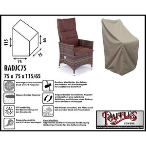 Raffles Covers Schutzhülle für Relaxstuhl 75 x 75 H: 115/65 cm