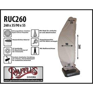 Raffles Covers Schutzhülle für Ampelschirm H: 260 cm