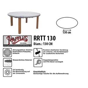 Raffles Covers Schutzhaube für eine runde Tischplatte Ø 130 cm