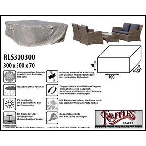 Raffles Covers Wetterschutz für Lounge-Möbelset 300 x 300 H: 70 cm