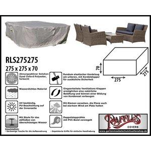 Raffles Covers Schutzhaube für Garten-Lounge Garnitur 275 x 275 H: 70 cm