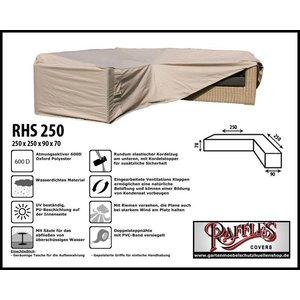 Raffles Covers Abdeckung für Lounge Eckset 250 x 250 x 90 H: 70 cm