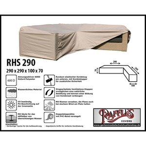 Raffles Covers Schutzhülle Lounge L-Form290 x 290 x 100 H: 70 cm