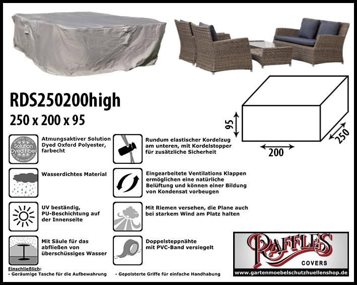 Schutzhülle Für Rattan Lounge Gartenmöbeln