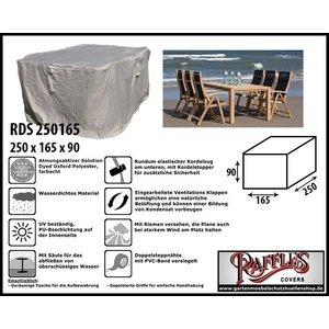 Raffles Covers Wetterschutz für Gartenmöbel Sitzgruppe 250 x 165 H: 90 cm