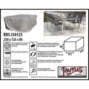 Raffles Covers Abdeckplane für Rechteckige Tisch Sitzgruppe 250 x 125 H: 80 cm