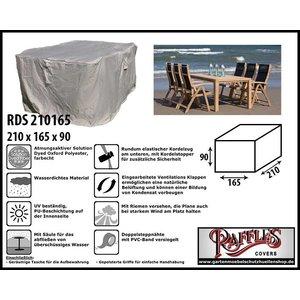 Raffles Covers Schutzhülle für Gartenmöbel-Set 210 x 165 H: 90 cm