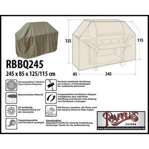 Raffles Covers Schutzhülle Outdoor-Küchen 245 x 85 H: 125/115 cm