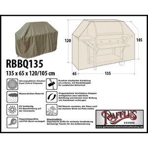 Raffles Covers Schutzhülle für Gasgrillküche 135 x 65 H: 120/105 cm