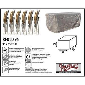 Raffles Covers Schutzhaube für 4-6 Klappstühle 95 x 65 H: 100 cm