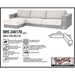 Raffles Covers L-Form Loungemöbel Abdeckschutz 240 x 170 x 90 H: 70 cm