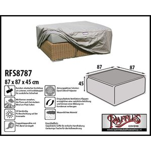 Raffles Covers Schutzhülle für Lounge Kaffeetisch 87 x 87 cm