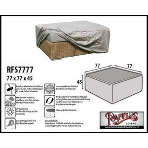 Raffles Covers Schutzhülle für Sitzhocker 77 x 77 cm