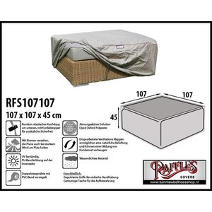 Raffles Covers Schutzhülle für Rattan Kaffeetisch 107 x 107 cm