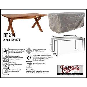 Raffles Covers Abdeckplane für Gartentische 210 x 100 H: 75 cm