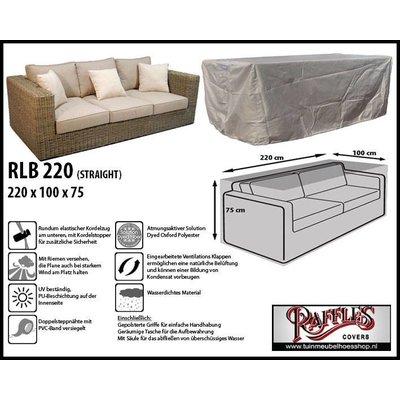 Raffles Covers Hülle für Rattan Lounge Bank 220 x 100 H: 75 cm