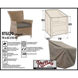 Raffles Covers RTGC70, 70 x 65 H:95/65cm, taupe