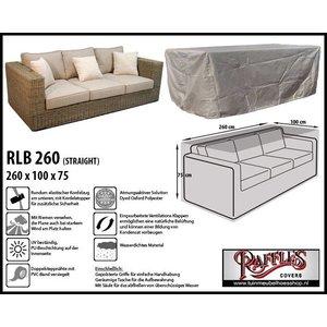 Raffles Covers Wetterschutzhülle für rechteckige Sofa 260 x 100 H: 75 cm