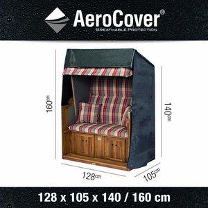 AeroCover AeroCover-Abdeckhaube für Strandkörbe 128 x 105 H: 160/115 cm