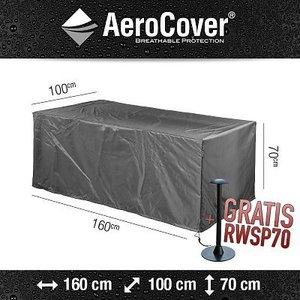AeroCover Schutzhülle für rechteckigen Gartentisch,  160 x 100 H: 70 cm
