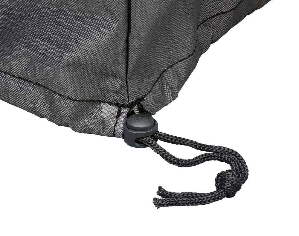 schutzhaube f r rechteckigen gartentisch von aerocover gartenmoebelschutzhuellenshop. Black Bedroom Furniture Sets. Home Design Ideas
