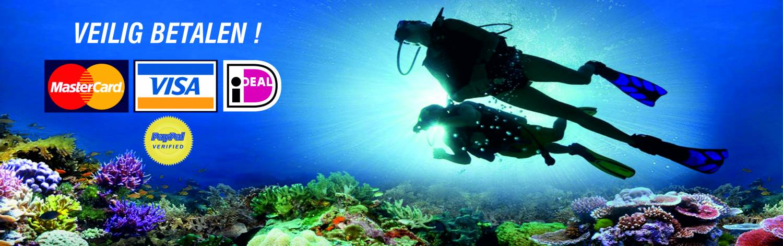 Online duikwinkel voor duiken en snorkelen