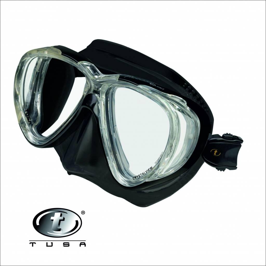 Tusa M41 Quad duikmasker en duikbril voor duiken en snorkelen