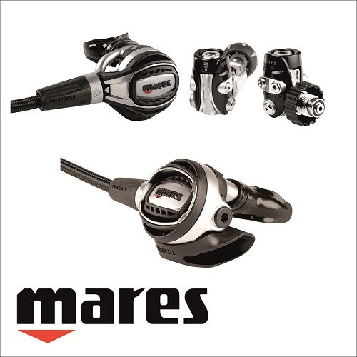 Mares Fusion 52X ademautomaat en regulator
