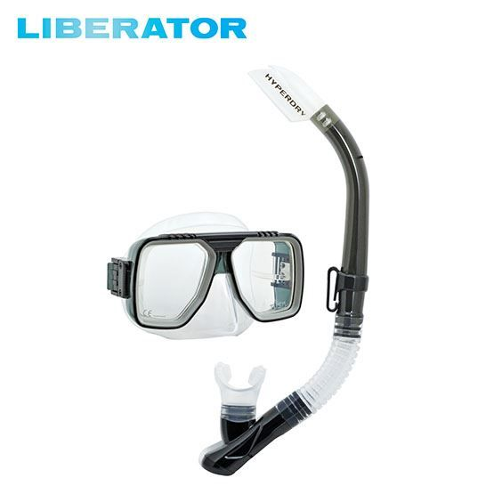 Liberator Adult Dry Combo snorkelset
