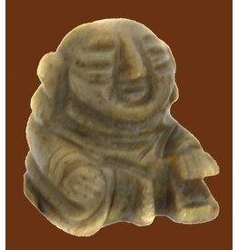 Buddha Speckstein ca. 33 mm