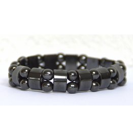 Hämatit-Fancy-Armband