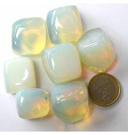 Trommelstein Opalglas