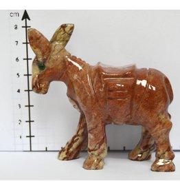 Esel Speckstein ca. 7 cm