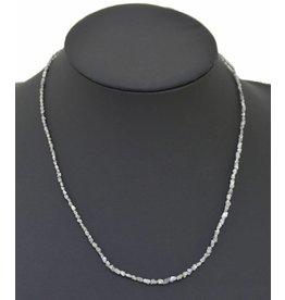 Rohdiamantkette 45 cm medium